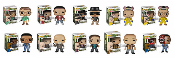 Pop! Television Vinyl Breaking Bad Set