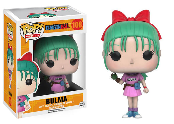 Pop! Animation Vinyl Dragon Ball Z Bulma