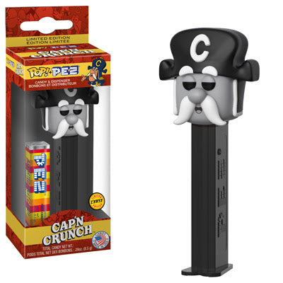 Funko Pop! PEZ: Captain Crunch CHASE (Coming in October)