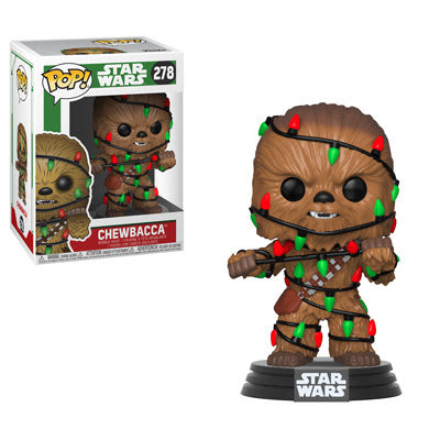 Funko Pop! Star Wars: Holiday - Chewbacca with Lights