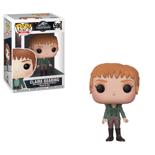 Funko POP! Movies: Jurassic World: Falling Kingdom - Claire Dearing