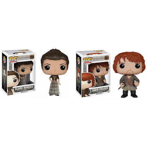Funko Pop! Outlander: Jamie Fraser and Claire Randall Set (Buy. Sell. Trade.)