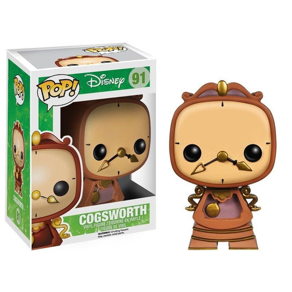 Pop!  Disney Vinyl Beauty and the Beast Cogsworth