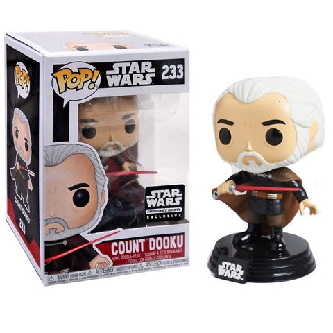 Funko Pop! Movies: Star Wars - Count Dooku Smuggler's Bounty Exclusive (Buy. Sell. Trade.)