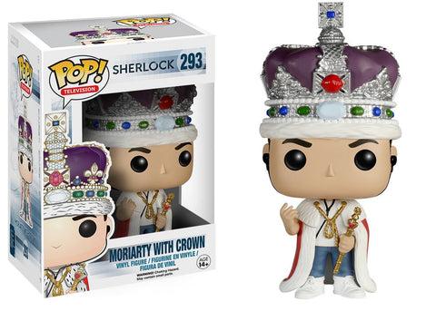 Pop! Television Vinyl Moriarty with Crown