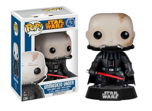 Pop! Star Wars Vinyl Unmasked Darth Vader