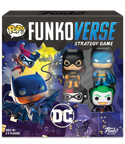 Funko Pop! Funkoverse DC Strategy Game Base Set