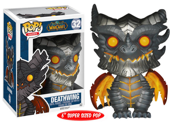 Pop! Games Vinyl World of Warcraft Oversized Deathwing 6""