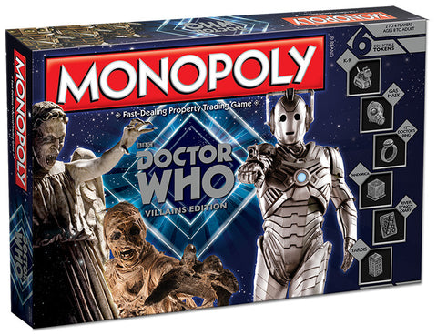 Monopoly: Doctor Who Villans Edition