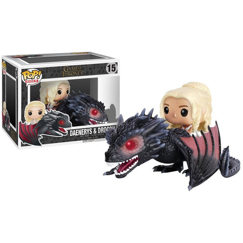 Funko POP! Rides: Game of Thrones - Daenerys & Drogon