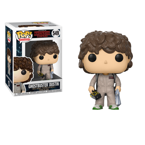 Funko Pop! TV Stranger Things W3 Ghostbuster Dustin
