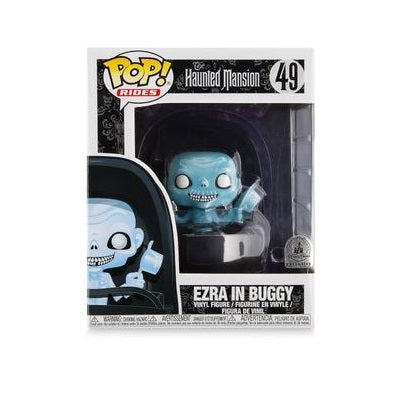 Funko Pop! Rides: The Haunted Mansion - Ezra in Buggy Exclusive with Mustache, Top Box Cut (Buy. Sell. Trade.)