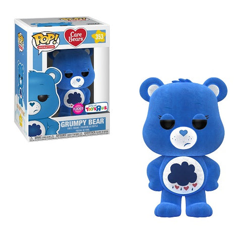Funko Pop! Animation: Care Bears - Flocked Grumpy Bear ToysRus Exclusive (Buy. Sell. Trade.)