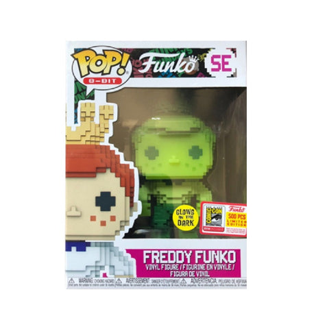 Funko Pop! 8-Bit: Green Freddy Funko GID SDCC 2018 Limited Edition (Buy. Sell. Trade.)