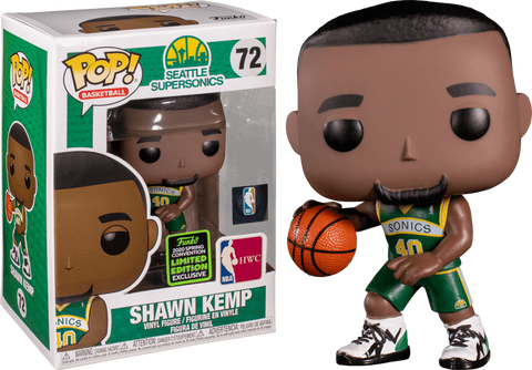 Funko Pop! NBA: Seattle Supersonics Shawn Kemp 72 (Target Exclusive) (ECCC Shared Sticker) (Buy. Sell. Trade.)