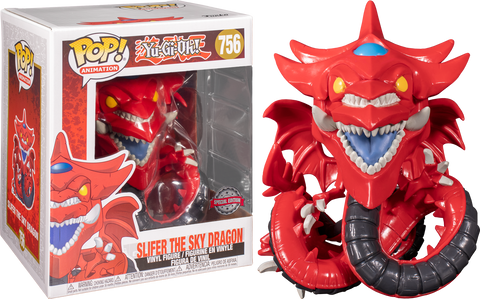 Funko Pop! Animation Yu-GI-Oh! Slifer The Sky Dragon 756 (Target Exclusive) (Buy. Sell. Trade.)