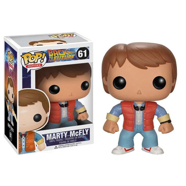 Pop! Movies Vinyl Back To The Future Marty McFly