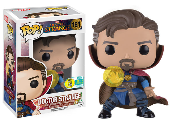 Pop! Marvel Vinyl Doctor Strange with Rune SDCC 2016 Convention Exclusive