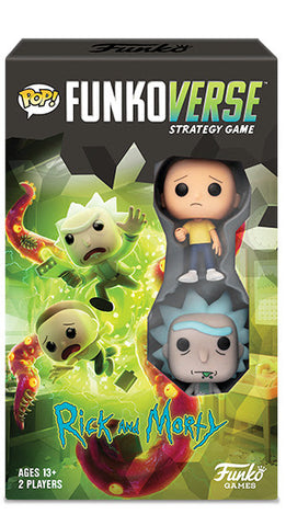 Funko Pop! Funkoverse Rick and Morty Game Expandalone