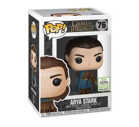 Funko Pop! Television: Game of Thrones - Arya Stark 76 ECCC 2019 Exclusive Shared Sticker ( Buy. Sell. Trade)