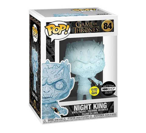 Funko Pop! Television: Game of Thrones - Night King 84 (GITD) HBO Exclusive with Sticker ( Buy. Sell. Trade)