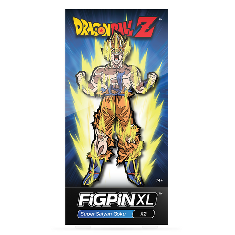FiGPiN Dragon Ball Z Goku X2 XL 6""