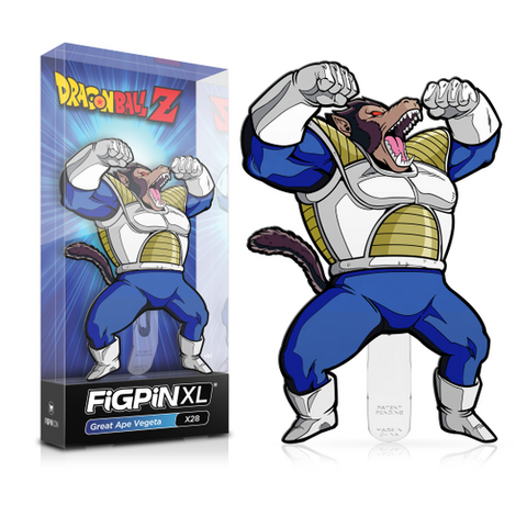 "FiGPiN Dragon Ball Z Great Ape Vegeta X28 XL 6"" (Coming Soon)"