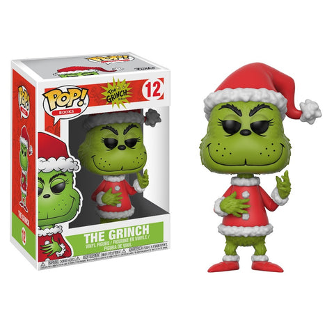 Funko Pop! Books: The Grinch- Santa Grinch