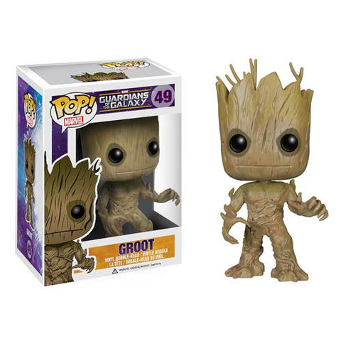 Pop! Heroes Vinyl Guardians of the Galaxy Groot