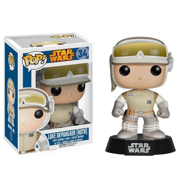 Pop! Star Wars Vinyl Luke Skywalker Hoth