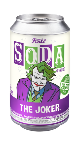Funko Vinyl SODA: DC Comic - Heath Ledger Joker Chance of Chase