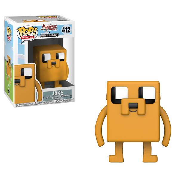 Funko POP! Animation: Adventure Time Minecraft - Jake