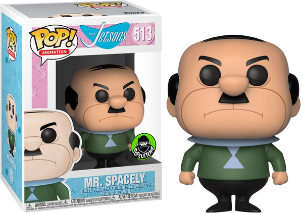 Funko Pop! Animation The Jetsons Mr. Spacely 513 (Popcultcha Exclusive) (Buy. Sell. Trade.)