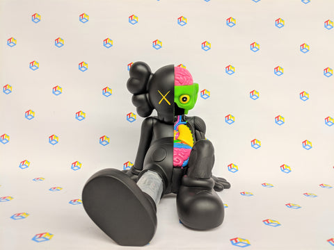 KAWS Resting Place Companion (Black) 2013 by OriginalFake (BUY.SELL.TRADE)