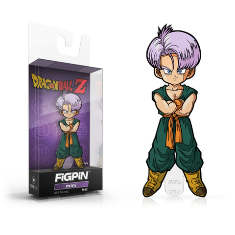 FiGPiN MiNis Dragon Ball Z Kid Trunks M43 (Coming Soon)