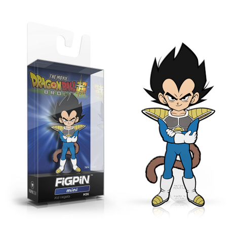 FiGPiN Mini Dragon Ball Super - Kid Vegeta
