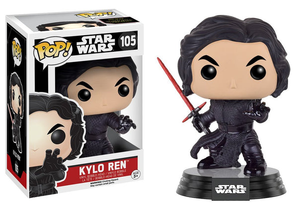 POP! Star Wars EP7 Kylo Ren (Battle Damaged)