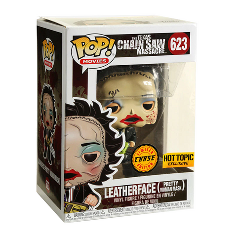 Funko Pop! Movies: Leatherface Pretty Woman Mask CHASE Hot Topic Exclusive (Buy. Sell. Trade.)