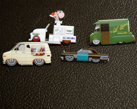 Lil Lows Cheech & Chong Pin 4 Piece Pin Set (Buy. Sell. Trade.)