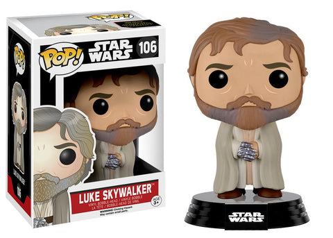 Pop! Star Wars EP7 Luke Skywalker (bearded/robe)