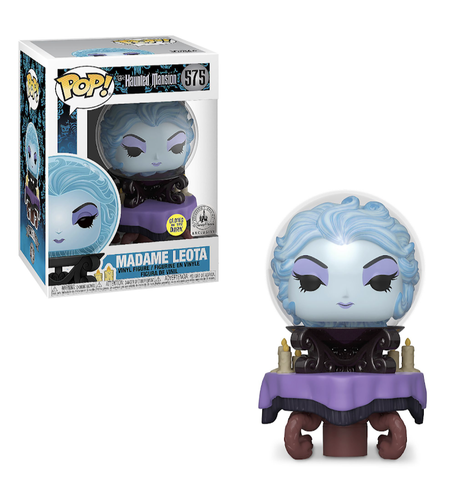 Funko Pop! Disney Haunted Mansion Madame Leota 575 (GITD) Disney Parks Exclusive (Buy. Sell. Trade.)