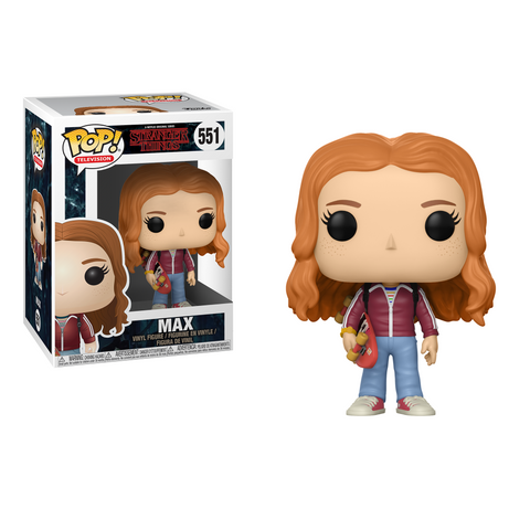 Funko Pop! TV Stranger Things W3 Max with Skateboard