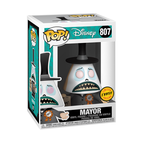Funko POP! Disney: Nightmare Before Christmas - Mayor With Megaphone CHASE