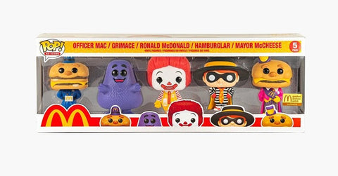 Funko Pop! Ad Icons McDonalds 5 pack Golden Arches (Buy. Sell. Trade.)