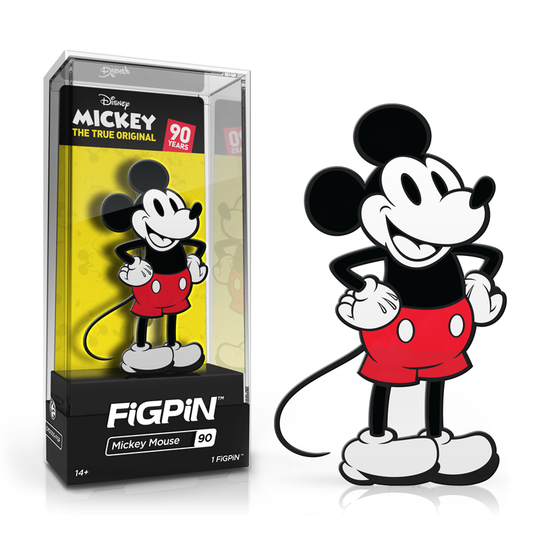 FiGPiN Disney - Mickey Mouse 90th Anniversary (Coming Soon)