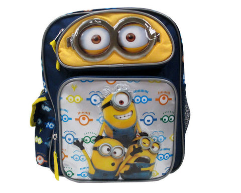 Despicable Me Minion Backpack Eyes 16""