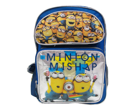 Despicable Me Minion Backpack Mishap