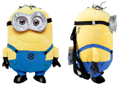 Despicable Me 2 Dave Minion Plush Backpack