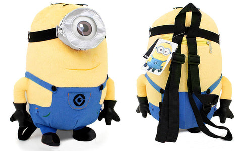 Despicable Me 2 Carl Minion Plush Backpack