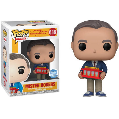 Funko Pop! Television: Mister Rogers Funko Shop Limited Edition (Buy. Sell. Trade.)